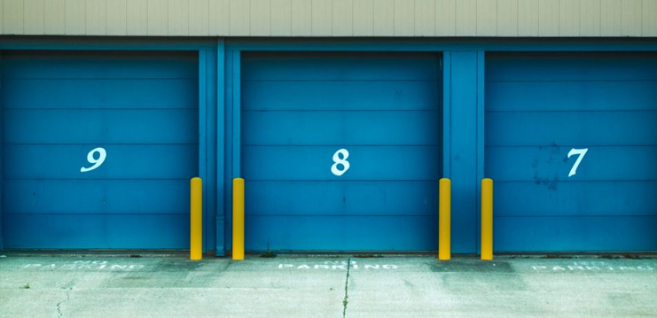 Storage units 7,8 and 9