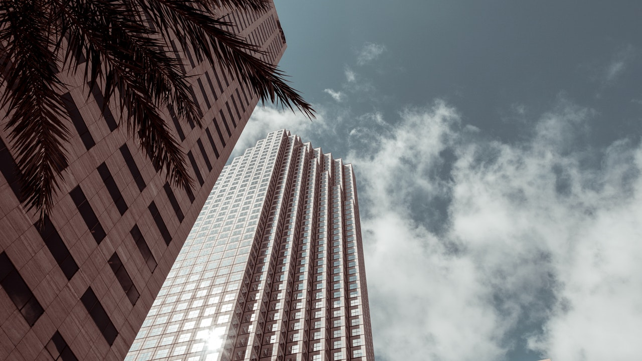 high-rise buildings like you will see after using cross country movers Miami